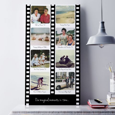 Personalised Film Strip Photo Art